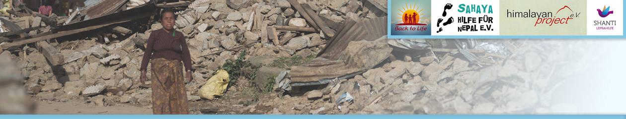 Der rollende Spenden-Butler: Hilfe für Nepal