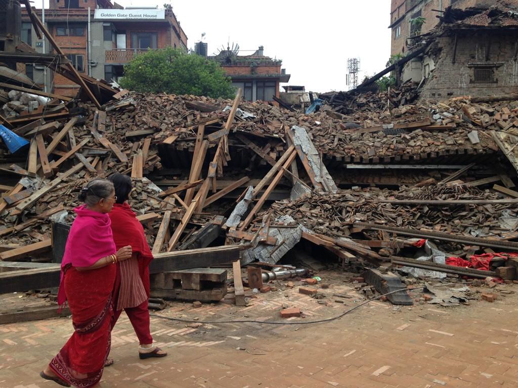 Bild: Nepal Erdbeben Spenden Hilfe
